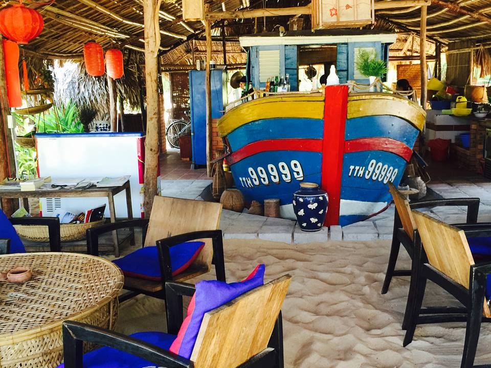 Private Rooms on the Beach